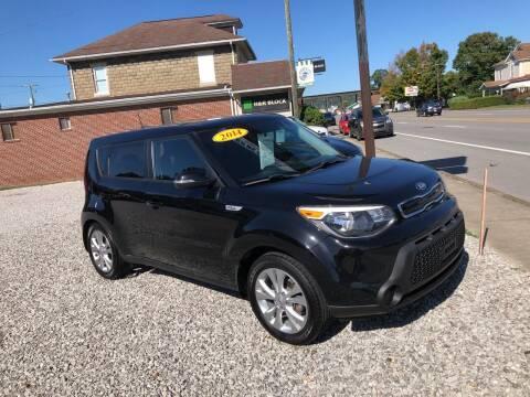 2014 Kia Soul for sale at ADKINS PRE OWNED CARS LLC in Kenova WV