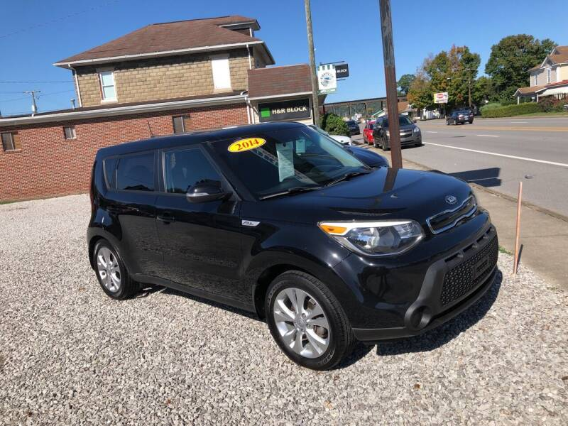 2014 Kia Soul for sale at ADKINS PRE OWNED CARS LLC in Kenova WV
