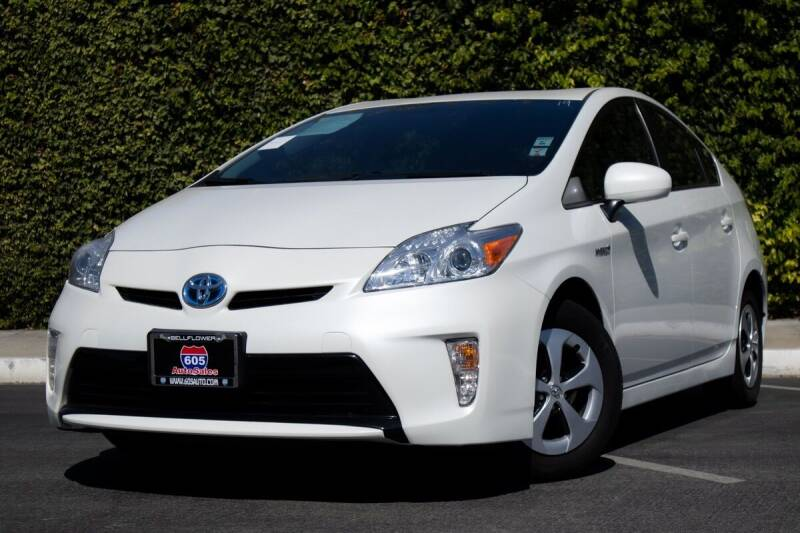 2014 Toyota Prius for sale at 605 Auto  Inc. in Bellflower CA