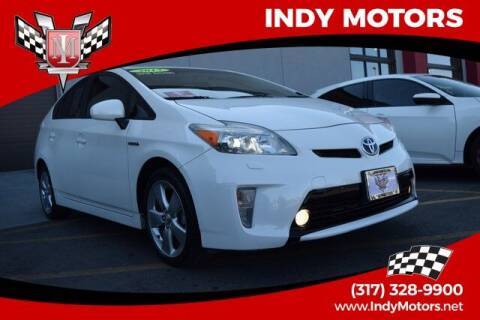 2013 Toyota Prius for sale at Indy Motors Inc in Indianapolis IN