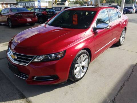 2014 Chevrolet Impala for sale at SpringField Select Autos in Springfield IL