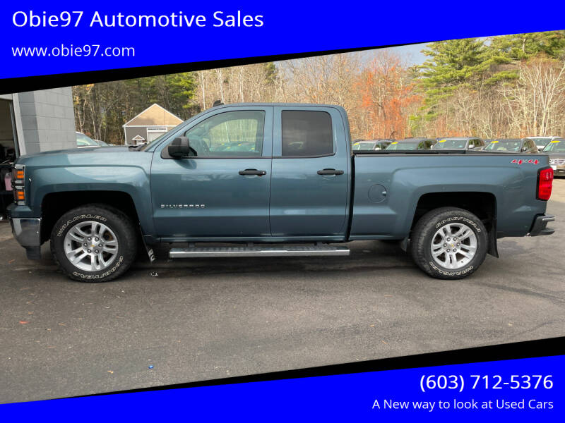 2014 Chevrolet Silverado 1500 for sale at Obie97 Automotive Sales in Londonderry NH