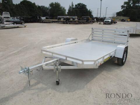 2022 Aluma Aluminum Single Axle Utility 7 for sale at Rondo Truck & Trailer in Sycamore IL