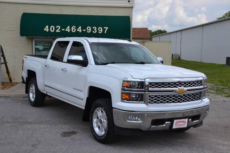 2014 Chevrolet Silverado 1500 for sale at Eastep's Wheels in Lincoln NE
