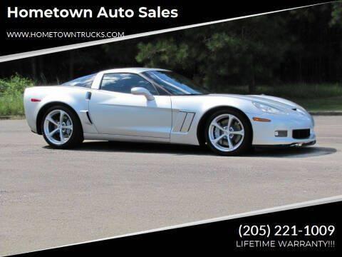 2010 Chevrolet Corvette for sale at Hometown Auto Sales - Cars in Jasper AL