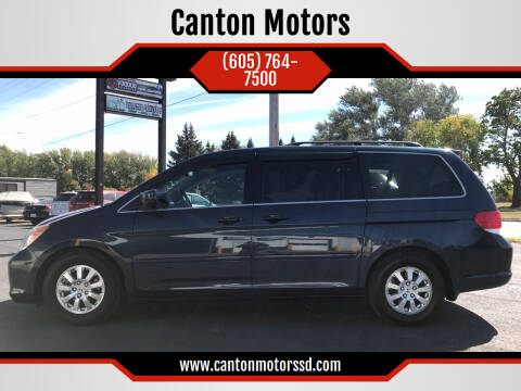 2010 Honda Odyssey for sale at Canton Motors in Canton SD