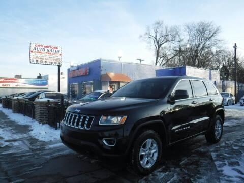 2015 Jeep Grand Cherokee for sale at City Motors Auto Sale LLC in Redford MI