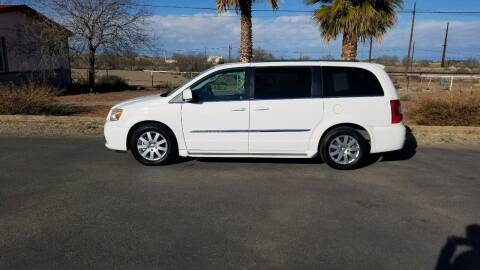 2013 Chrysler Town and Country for sale at Ryan Richardson Motor Company in Alamogordo NM