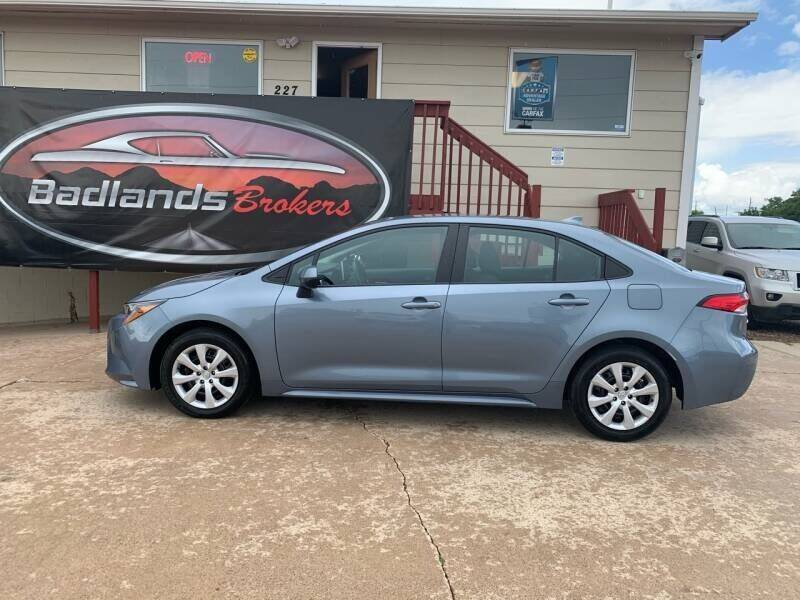 2020 Toyota Corolla for sale at Badlands Brokers in Rapid City SD