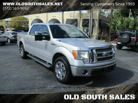 2010 Ford F-150 for sale at OLD SOUTH SALES in Vero Beach FL