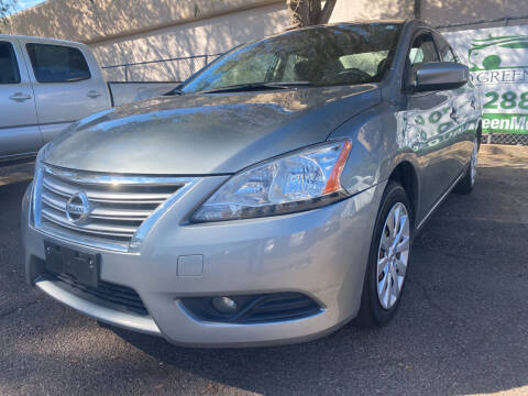 2014 Nissan Sentra for sale at GO GREEN MOTORS in Lakewood CO