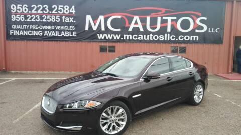 2013 Jaguar XF for sale at MC Autos LLC in Pharr TX