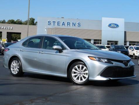 2018 Toyota Camry for sale at Stearns Ford in Burlington NC