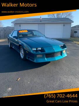 1992 Chevrolet Camaro for sale at Walker Motors in Muncie IN