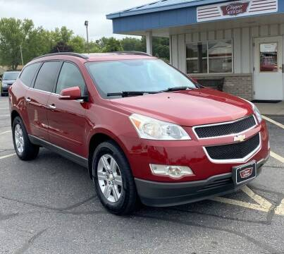 2012 Chevrolet Traverse for sale at Clapper MotorCars in Janesville WI