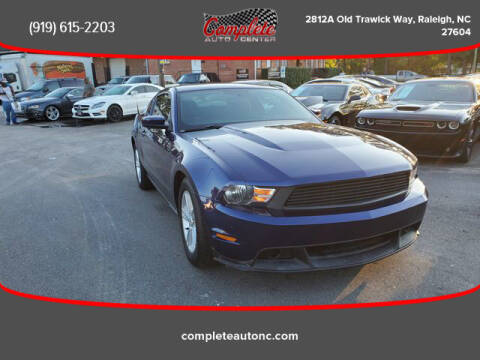 2012 Ford Mustang for sale at Complete Auto Center , Inc in Raleigh NC