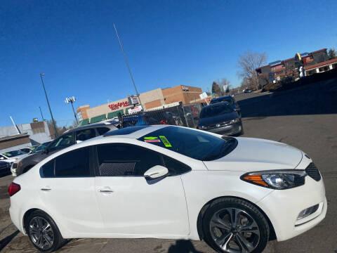 2014 Kia Forte for sale at Sanaa Auto Sales LLC in Denver CO