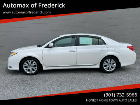 2011 Toyota Avalon for sale at Automax of Frederick in Frederick MD