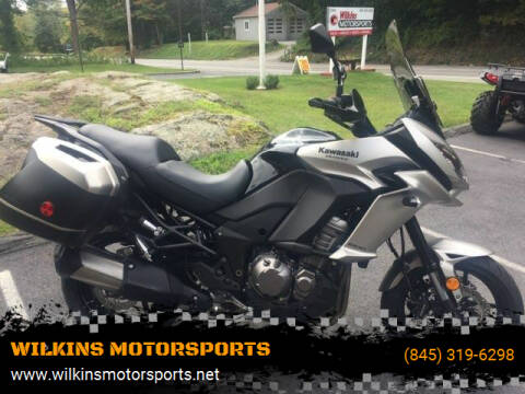 2016 Kawasaki Versys 1000 ABS for sale at WILKINS MOTORSPORTS in Brewster NY