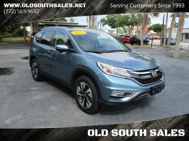 2015 Honda CR-V for sale at OLD SOUTH SALES in Vero Beach FL
