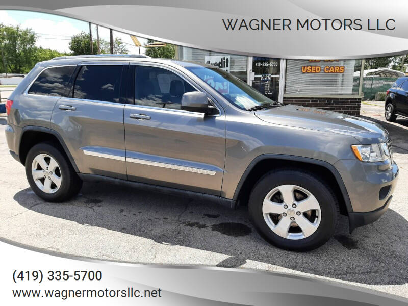 2012 Jeep Grand Cherokee for sale at Wagner Motors LLC in Wauseon OH
