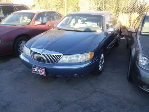 2000 Lincoln Continental for sale at PARS AUTO SALES in Tucson AZ