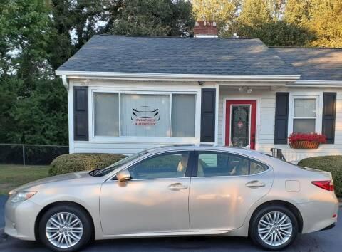 2013 Lexus ES 350 for sale at SIGNATURES AUTOMOTIVE GROUP LLC in Spartanburg SC
