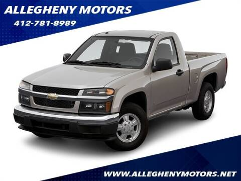 2006 Chevrolet Colorado for sale at Allegheny Motors in Pittsburgh PA