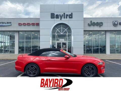 2018 Ford Mustang for sale at Bayird Truck Center in Paragould AR