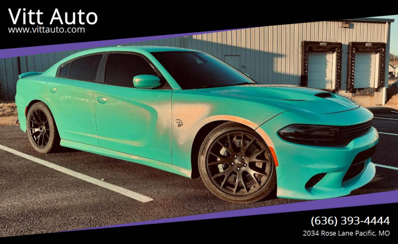 2016 Dodge Charger for sale at Vitt Auto in Pacific MO
