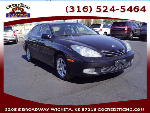 2002 Lexus ES 300 for sale at Credit King Auto Sales in Wichita KS