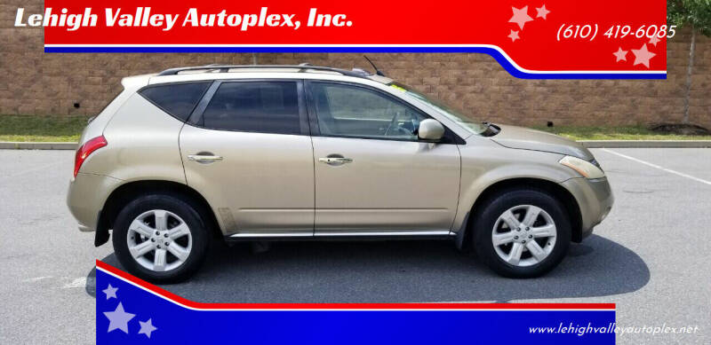 2006 Nissan Murano for sale at Lehigh Valley Autoplex, Inc. in Bethlehem PA