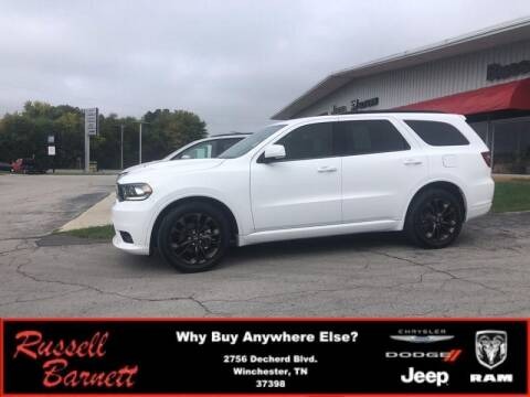 2019 Dodge Durango for sale at Russell Barnett Chrysler Dodge Jeep Ram in Winchester TN