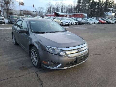2010 Ford Fusion for sale at BETTER BUYS AUTO INC in East Windsor CT