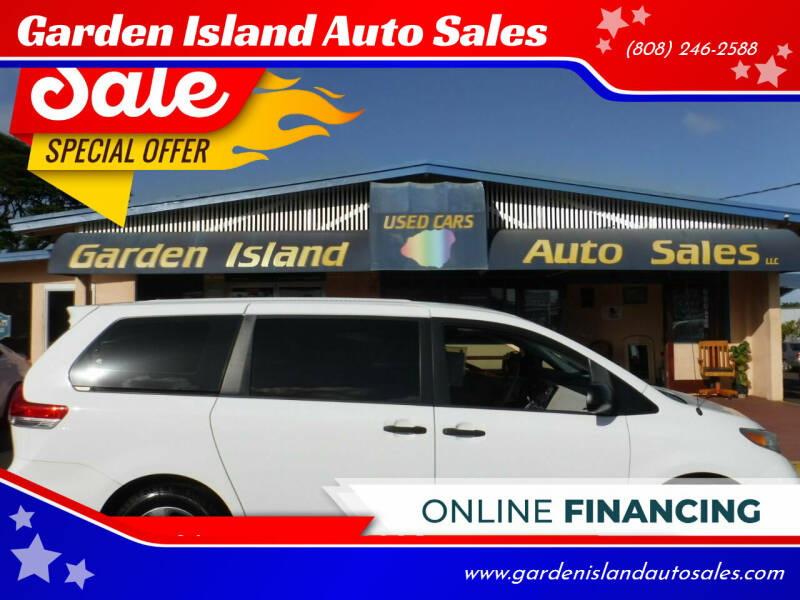 2013 Toyota Sienna for sale at Garden Island Auto Sales in Lihue HI