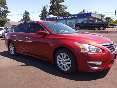 2015 Nissan Altima for sale at All American Motors in Tacoma WA