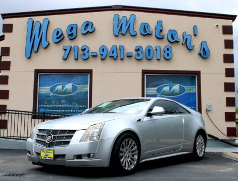 2011 Cadillac CTS for sale at MEGA MOTORS in South Houston TX