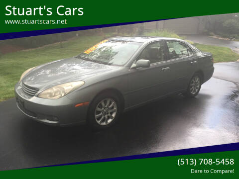 2002 Lexus ES 300 for sale at Stuart's Cars in Cincinnati OH