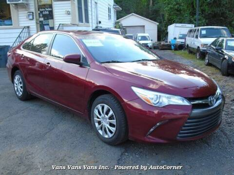 2015 Toyota Camry for sale at Vans Vans Vans INC in Blauvelt NY