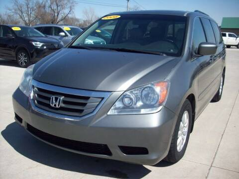 2008 Honda Odyssey for sale at Nemaha Valley Motors in Seneca KS