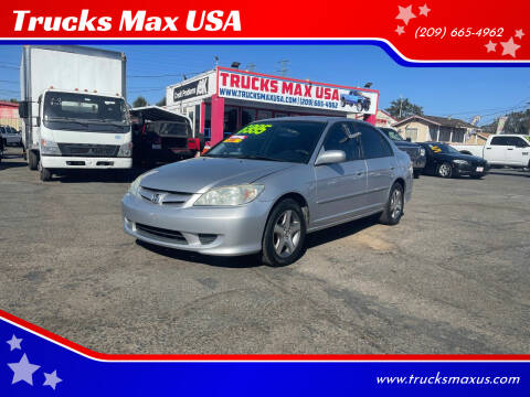 2004 Honda Civic for sale at Trucks Max USA in Manteca CA