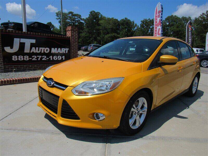 2012 Ford Focus for sale at J T Auto Group in Sanford NC