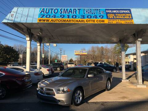 2013 Dodge Charger for sale at Auto Smart Charlotte in Charlotte NC