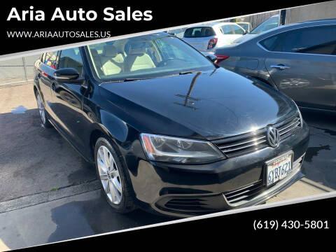 2013 Volkswagen Jetta for sale at Aria Auto Sales in El Cajon CA