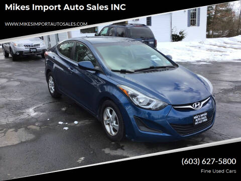 2014 Hyundai Elantra for sale at Mikes Import Auto Sales INC in Hooksett NH