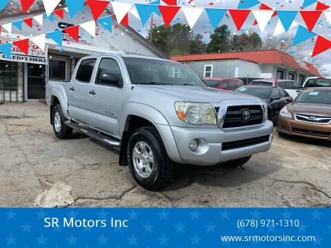2008 Toyota Tacoma for sale at SR Motors Inc in Gainesville GA