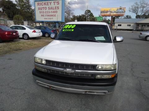 2000 Chevrolet Silverado 1500 for sale at Rickey T's Auto Sales in Garden City GA