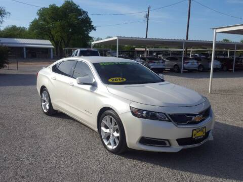 2014 Chevrolet Impala for sale at Bostick's Auto & Truck Sales in Brownwood TX