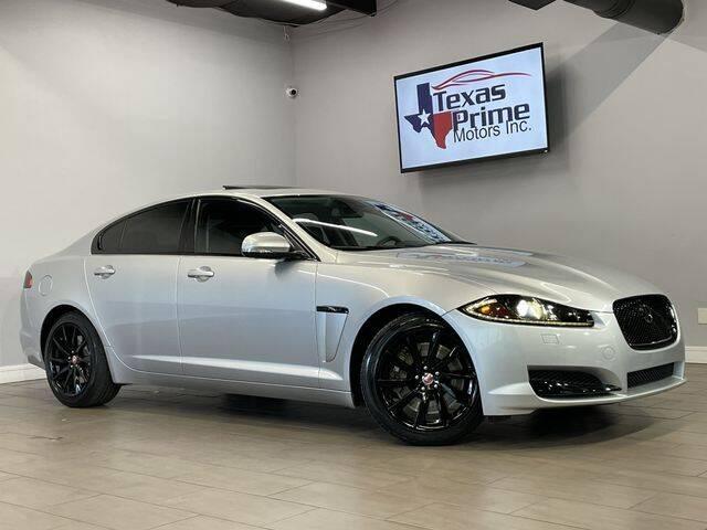 2014 Jaguar XF for sale at Texas Prime Motors in Houston TX