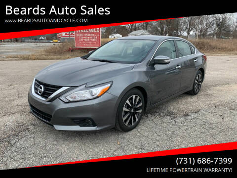 2018 Nissan Altima for sale at Beards Auto Sales in Milan TN